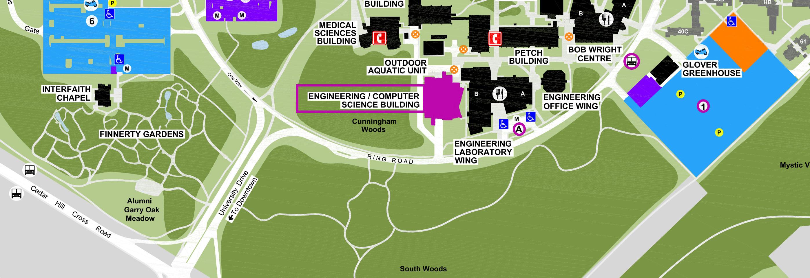 L:PublicationsCampus MapsCSEC Parking MapsCSEC Parking Map 2